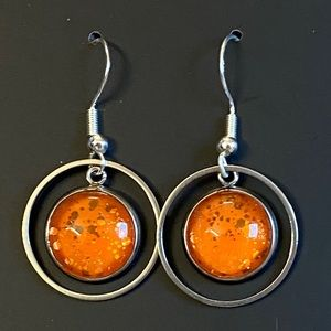 CS Orange You Scared? earrings